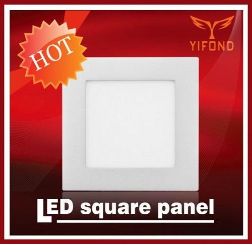 Yifond Led Square Panel Light High Brightness Flat Ceiling