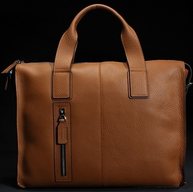 Yn377 Leather Business Bag For Male