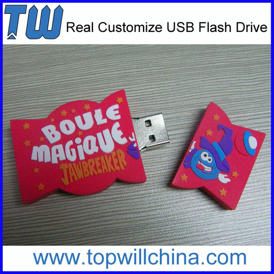 Your Company Own Design Pvc Usb Flashdrives Free Digital