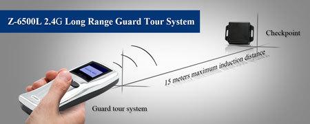 Z 6500d 2 4g Long Range Scanning Guard Clocking System
