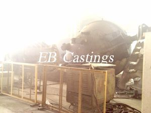 Zg230 450 Large Carbon Steel Slag Pot Castings Eb4006