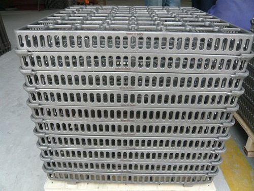 Zg30cr22ni10 Heat Resistant Steel Basket Castings For Quenching Furnaces Eb