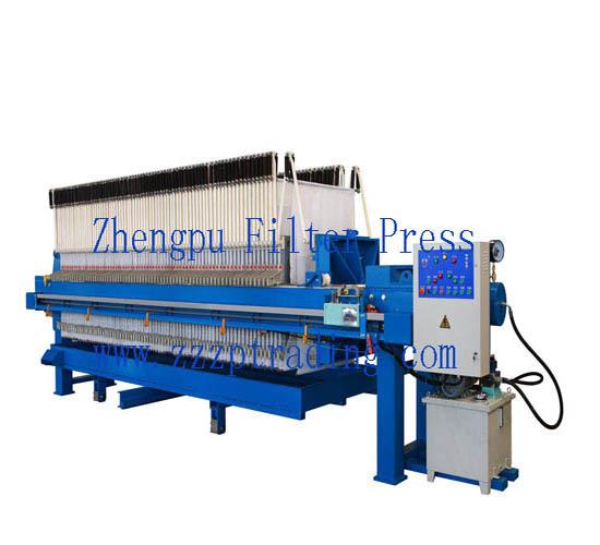 Zhengpu Dibo Steel Mill Using Membrane Filter Press