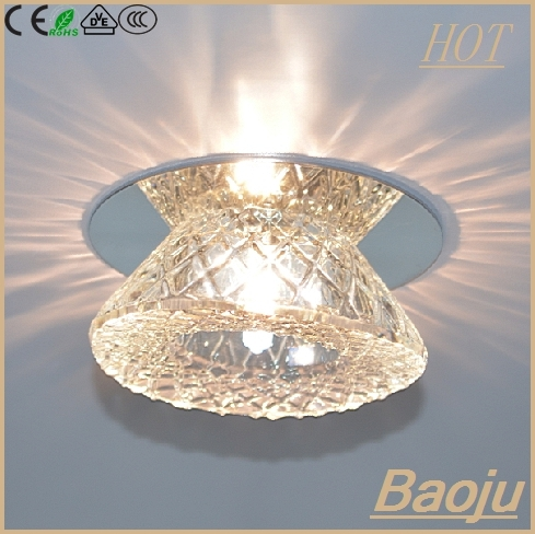 Zhongshan Guzman Low Prices Fancy Crystal Led Ceiling Decorative Light