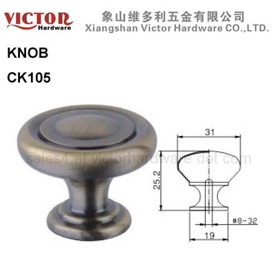 Zinc Alloy Knob Furniture Cabinet Hardware Shower Door Drawer China Manufac