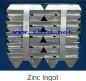 Zinc Ingot And Its Related Product
