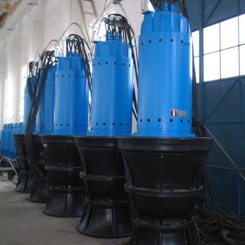 Zqb Hqb Submersible Axial Mixed Flow Pump