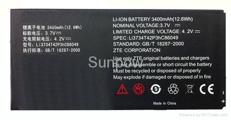 Zte V9 Battery Li3734t42p3hc86049