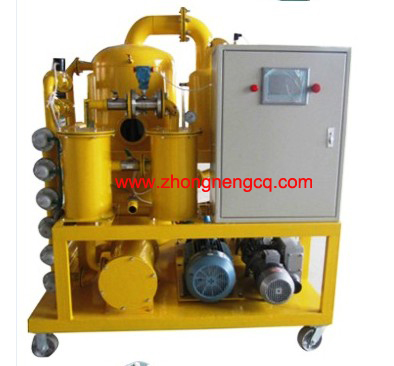Zyd Double Stage Vacuum Insulating Oil Regeneration Purifier