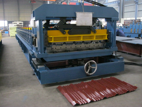 Zyyx27 190 950 Roof Tile Forming Machine